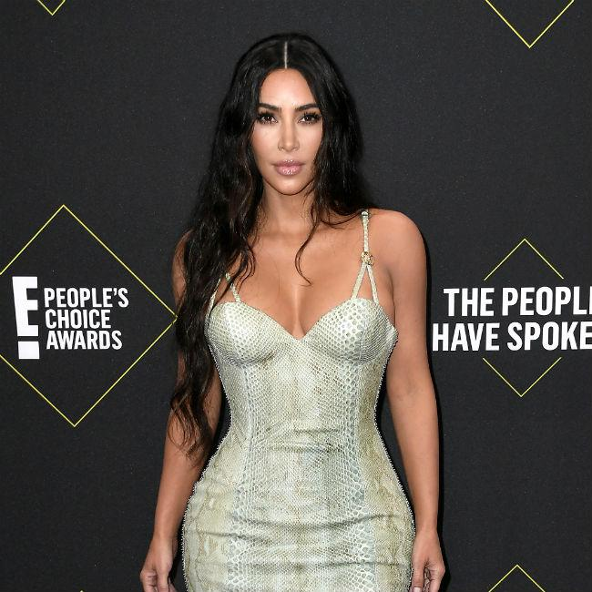Kim Kardashian West agrees with Kanye West's make-up stance
