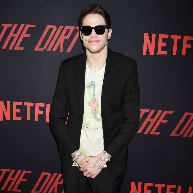 Pete Davidson had crush on Leonardo DiCaprio
