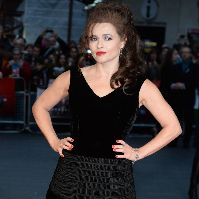 Helena Bonham Carter had royal sleepover
