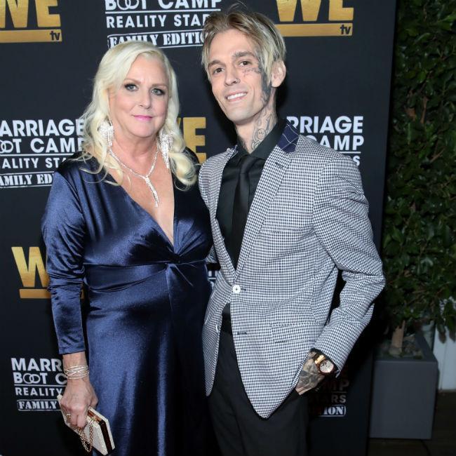 Aaron Carter's weight loss worries mom
