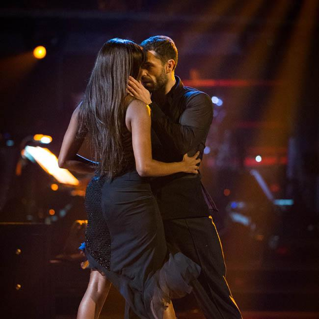 Oti Mabuse scared by Strictly Come Dancing lift