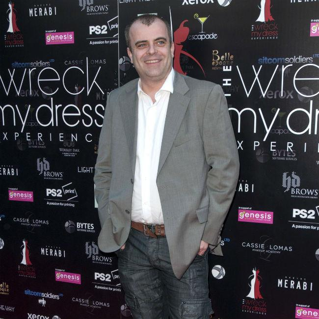 Simon Gregson to go on diet after go kart defeat