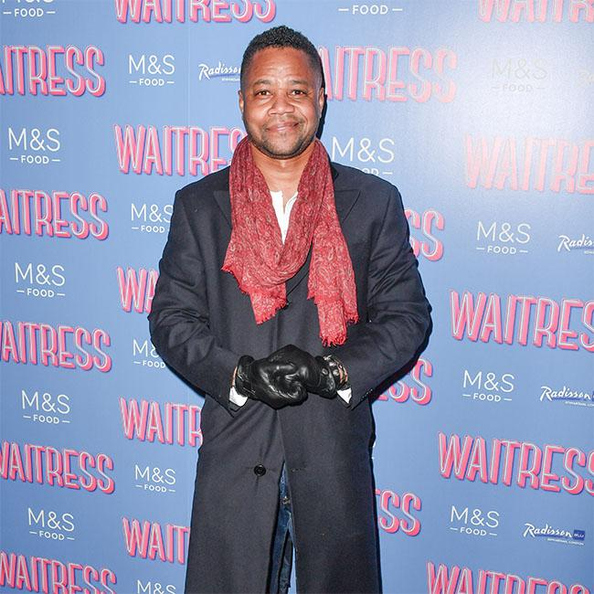 Cuba Gooding Jr. confronted by girlfriend on night out