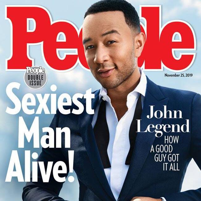 John Legend named People's Sexiest Man Alive 2019
