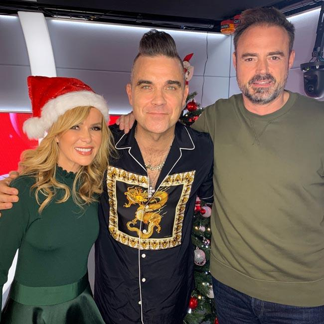 Robbie Williams is hopeful he and Britney Spears will record festive duet