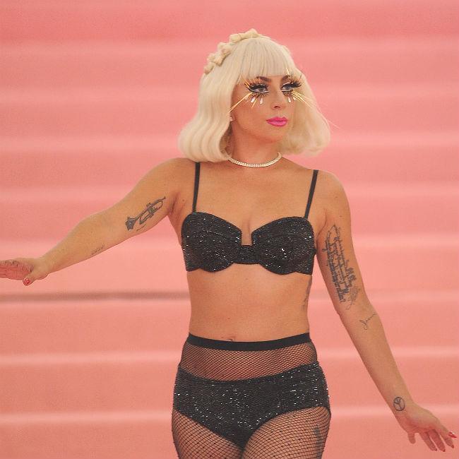 Lady Gaga was a 'cutter'
