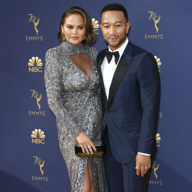 Chrissy Teigen shrugs off Sharon Osbourne's criticism of John Legend