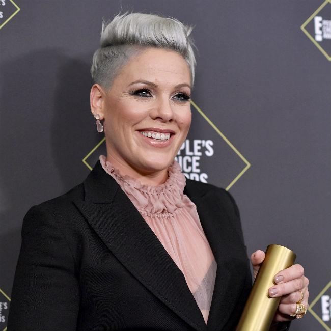 Pink wins big at People's Choice Awards 2019