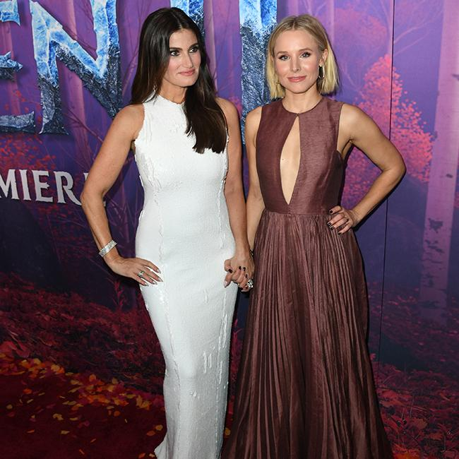 Idina Menzel and Kristen Bell to be honoured with double Walk of Fame ceremony