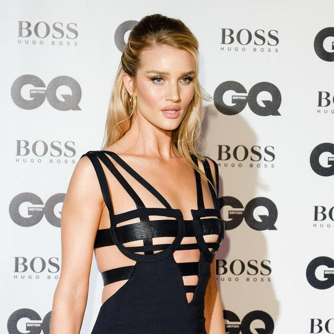 Rosie Huntington-Whiteley wants her son to live 'normal' life