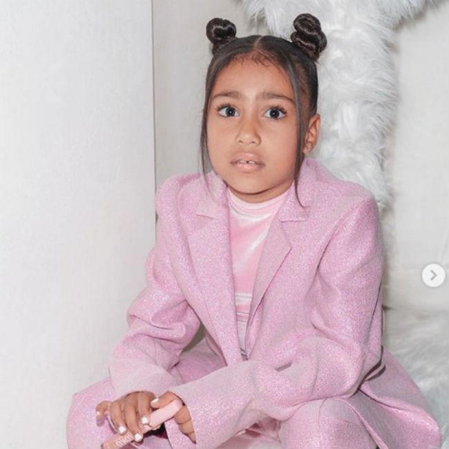 Kim Kardashian West's daughter North had stomach flu on Xmas Eve