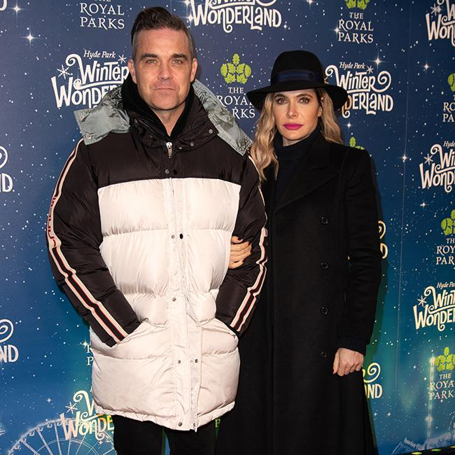 Robbie Williams jokes Ayda Field didn't make the cut for Christmas duet