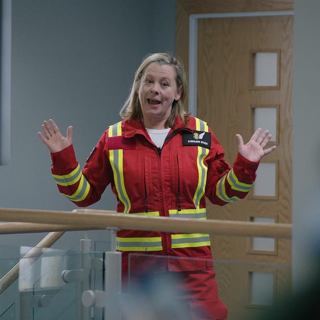 Jane Hazlegrove praises Peter Ash for 'heartbreaking' performances