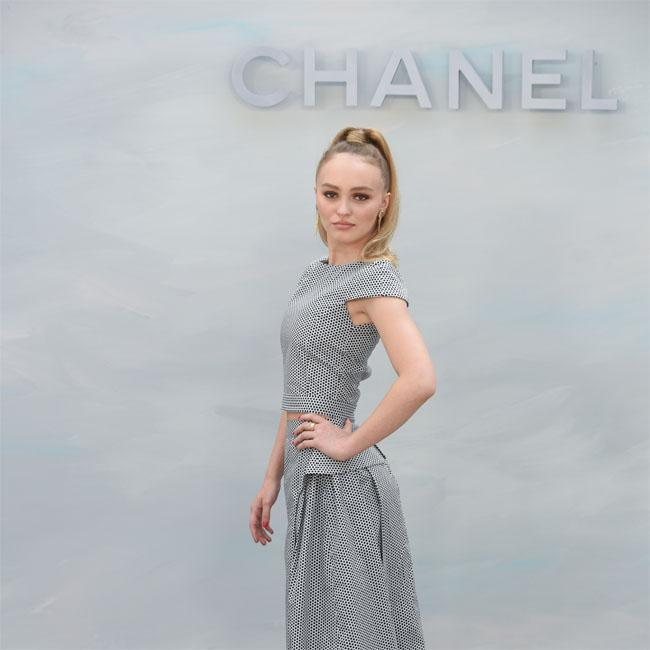 Lily-Rose Depp happy to be boring