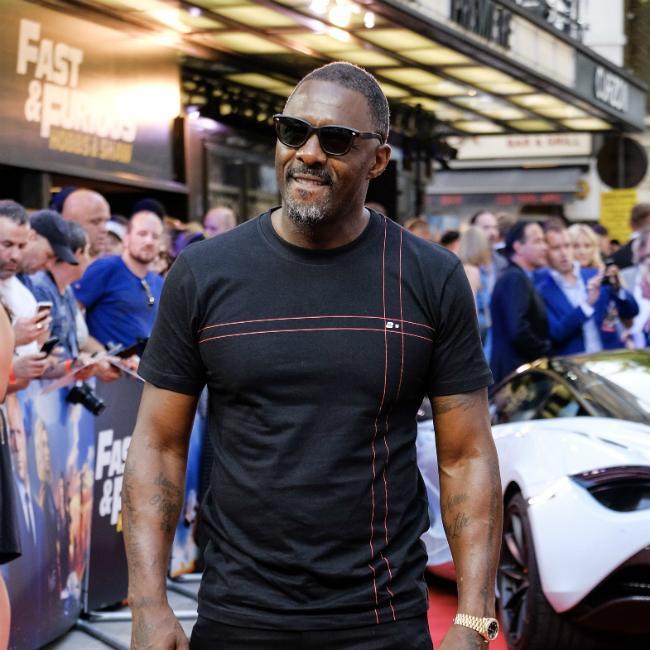 Idris Elba's Suicide Squad excitement