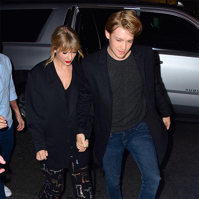 Joe Alwyn 'flattered' Taylor Swift writes songs about him