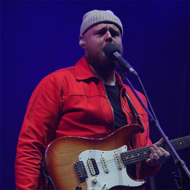 Tom Walker says songwriting is like 'therapy'