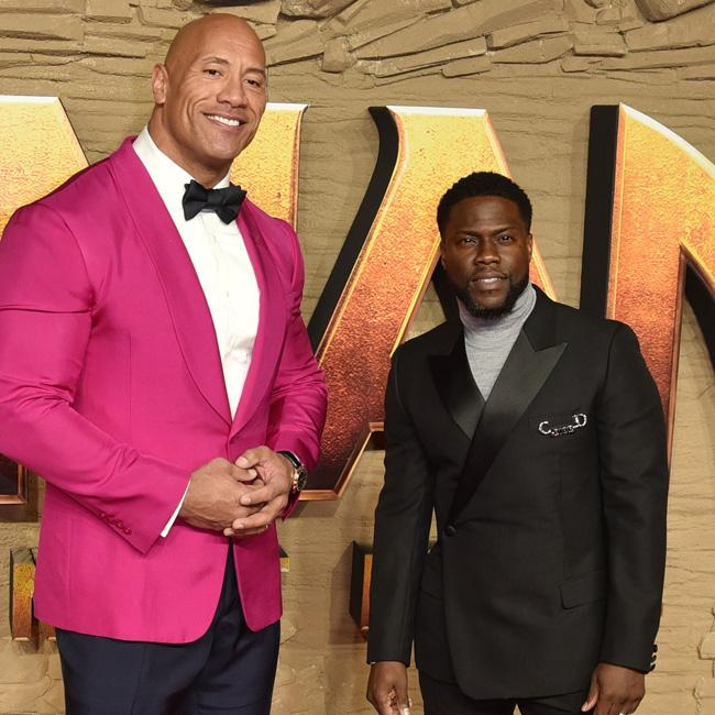 Dwayne Johnson: I'm 'so proud' of Kevin Hart