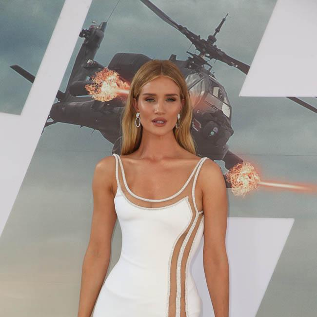 Rosie Huntington-Whiteley's parents' support got her through ups and downs