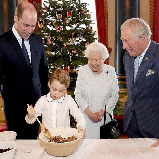 Royal Family comes together to make Christmas puddings