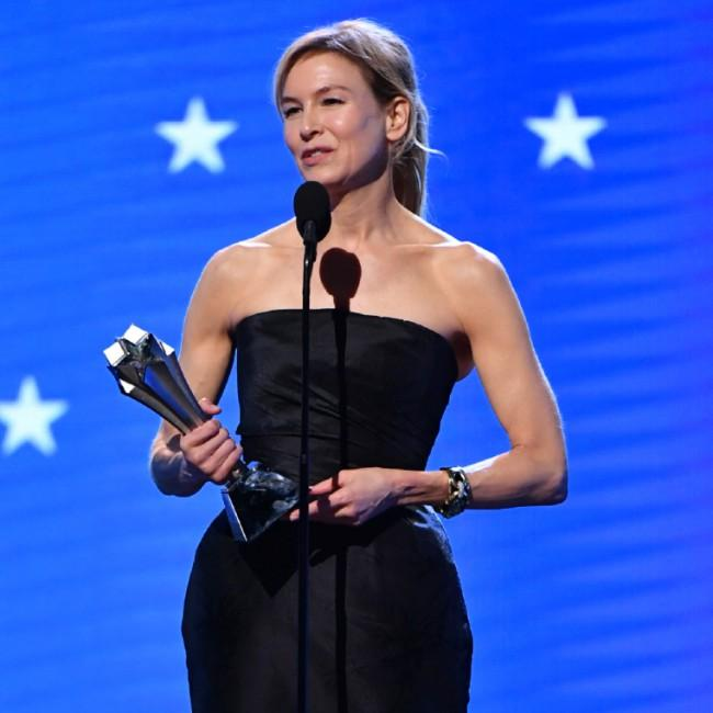 Renee Zellweger praised Judy Garland after Critics' Choice awards