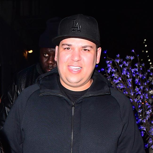 Rob Kardashian using Dream as weight loss motivator