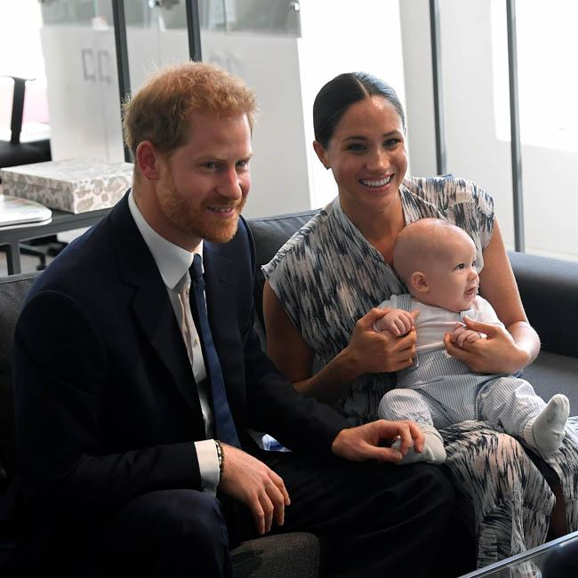 Prince Harry shares 'excitement' at seeing son Archie see snow