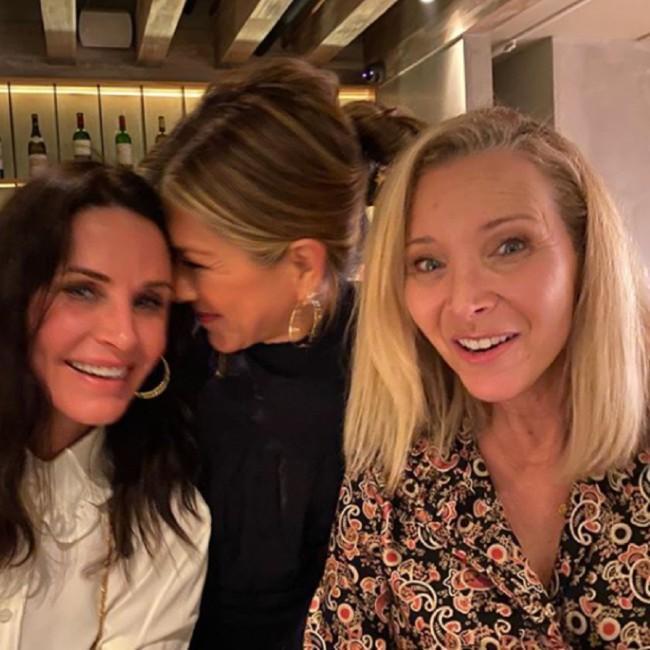 Jennifer Aniston has Friends reunion as she skips Critics' Choice Awards