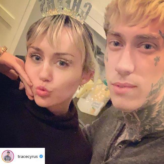 Trace Cyrus no longer engaged