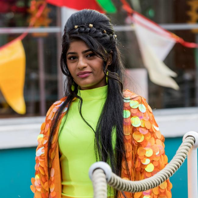 Hollyoaks' Haiesha Mistry couldn't move after getting back in the gym
