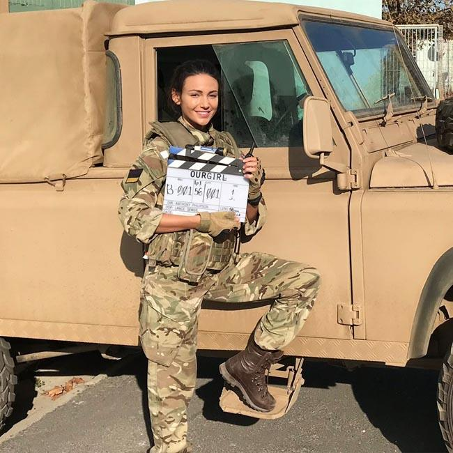 Michelle Keegan quits Our Girl