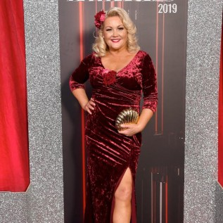 Lisa George dropped two dress sizes