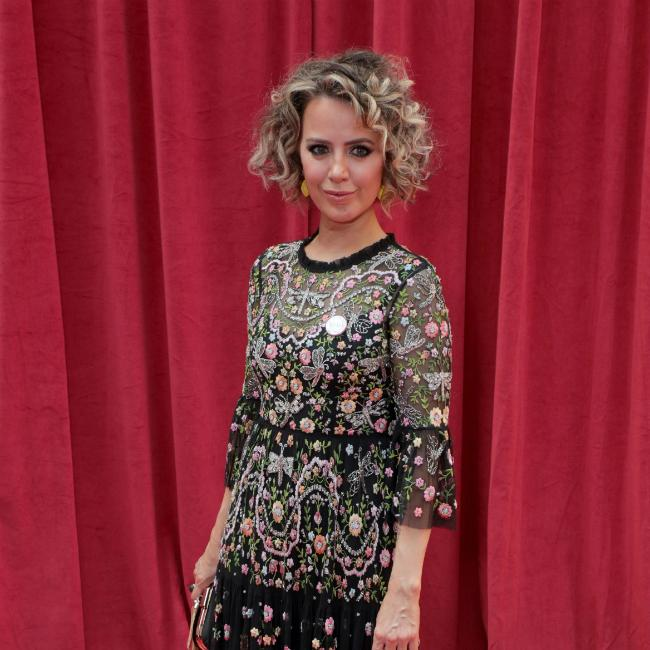 Corrie's Sally Carman says boyfriend Joe Duttine 'twinkles' on Corrie set
