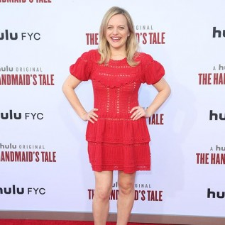 Elisabeth Moss scared by own movie
