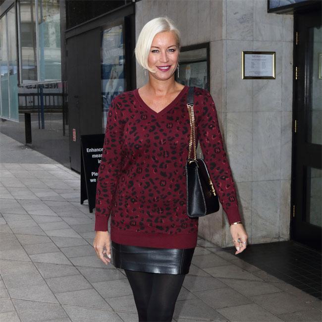 Denise Van Outen kept record deal secret from family