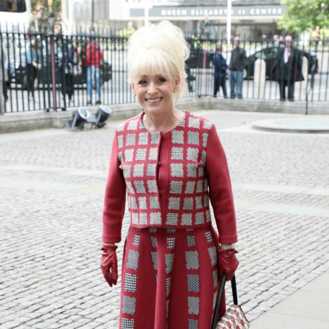Dame Barbara Windsor laughs a lot