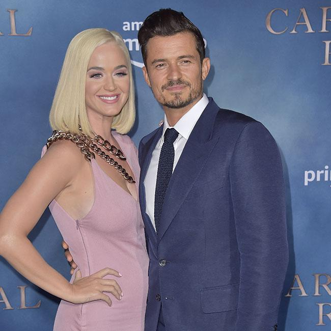 Katy Perry and Orlando Bloom enjoy 'space'