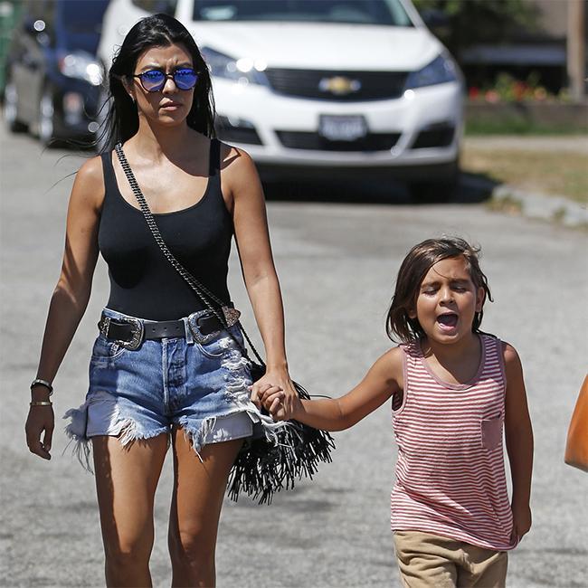 Kourtney Kardashian's son sets up TikTok after Instagram was deleted