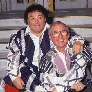 Syd Little 'hit' by the death of Eddie Large